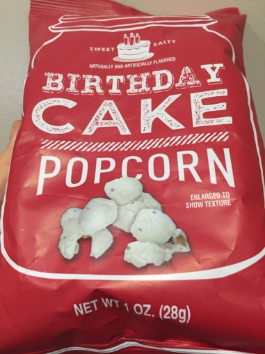 REVIEW Sweet Salty Birthday Cake Popcorn