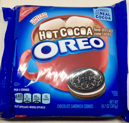 Review Limited Edition Hot Cocoa Oreo Cookies Seans Skillet