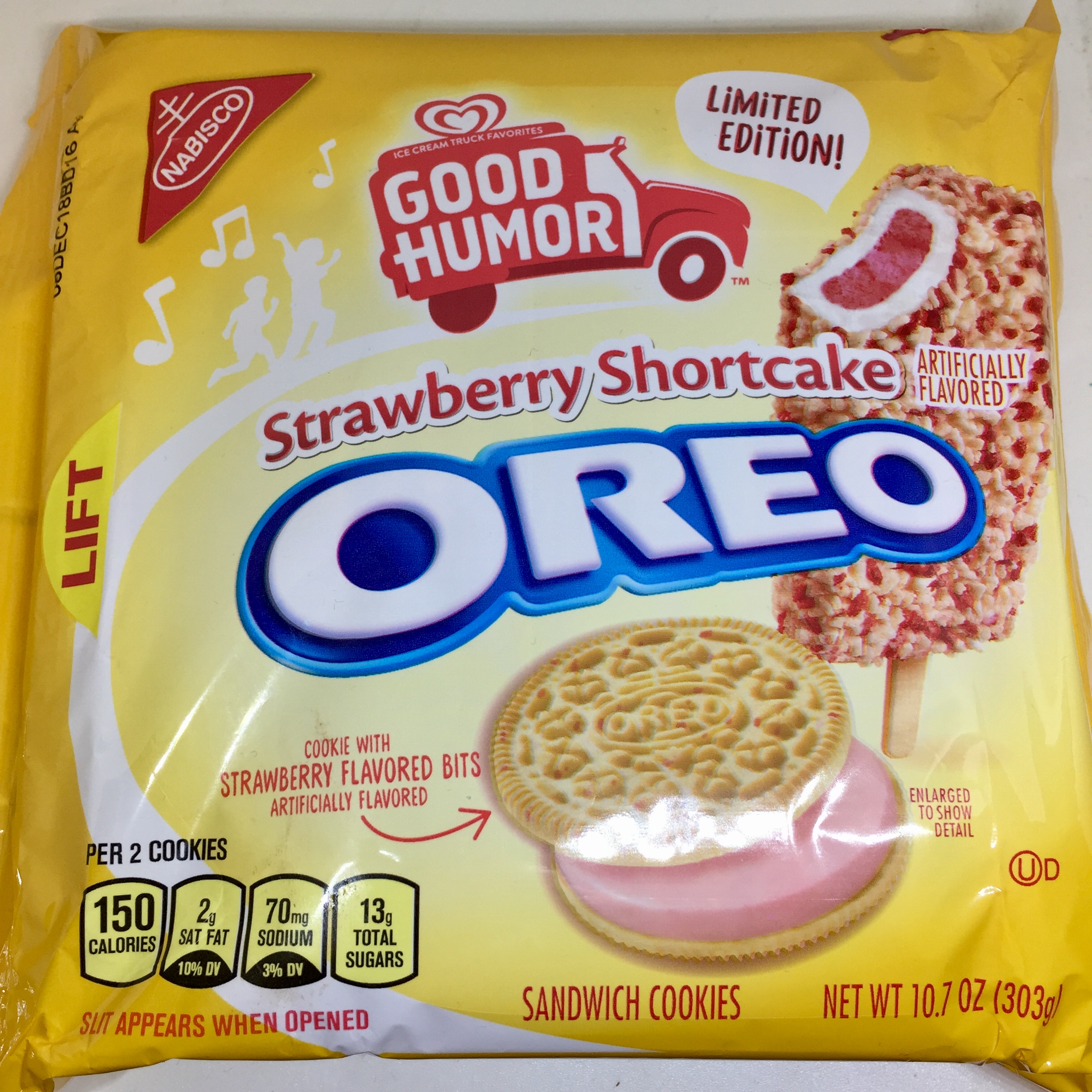 Review Limited Edition Good Humor Strawberry Shortcake Oreo